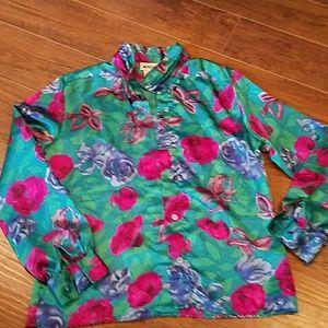 Tops - Size 8 Vintage Floral Top